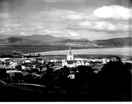 Caledon, 1950. View of town.