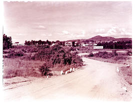 """Nelspruit, 1938. Entry to town."""