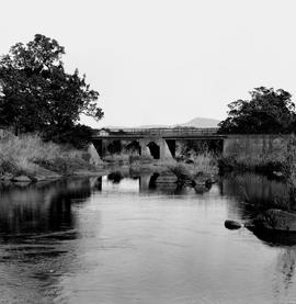 Tzaneen district. Bridge over the Letaba river.