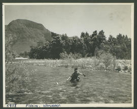 Worcester, 1952. Trout fishing.