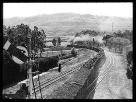 Vryheid. SAR coal train.