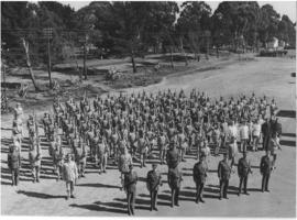 Boksburg, July 1940. SAR&H Brigade, No 1 Composite Company at Mapleton.
