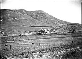Vryheid district, 1923. Coal mine at Zinguin mountain.