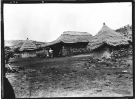 Wankie, Rhodesia. Lalapansi farmstead, Mr. Timmins's farm.