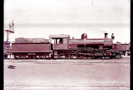 Beaufort West. SAR Class 8Y No 899, earlier CGR 8th Class No 820 'Consolidation'.