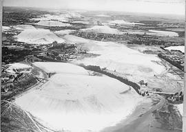 """Vryheid district, 1933. Aerial view of Hlobane mine."""