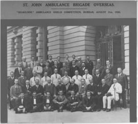 Durban, 31 August 1920. St John Ambulance Brigade Overseas at 'Selbourne' Ambulance Shield compet...