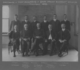 December 1909. Conference of chief accountants of South African government railways.