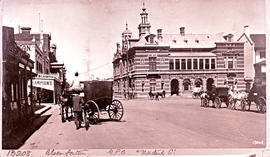 Bloemfontein. General Post Office in Maitland Street.