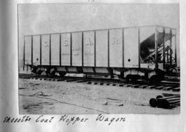CSAR J1 high-sided coal hopper wagon later SAR A-4. (Souvenir album of a visit by Rand Engineerin...