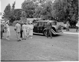 Swaziland, 25 March 1947.  Royal family welcomed.