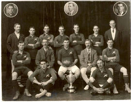 Bloemfontein, 1914-1915. Winners of the Girouard Cup.