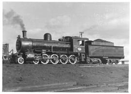 Bloemfontein. Class 8D No 1223 superheated with inside admission piston valves.