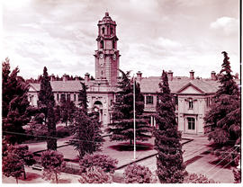"""Bloemfontein, 1938. Government buildings."""