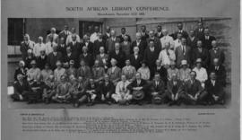 Bloemfontein, 15-17 November 1928. South African Library conference. (Coster & Somerville, Bl...