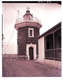 Port St Johns, 1951. Lighthouse.