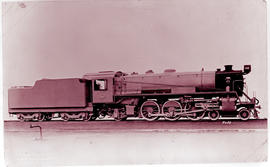 SAR Class 16D No 860 'Big Bertha' built by Baldwin Locomotive Works No's 58309-58310 in 1926.