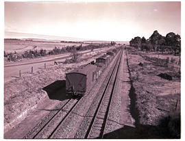 """1950. Goods train on double line."""