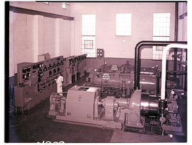 """1952. Interior of power station."""
