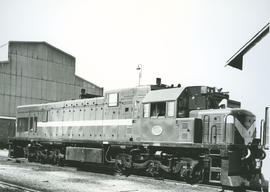SAR Class 33-000 No 33-002 at diesel shed.