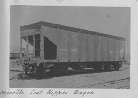 CSAR J No 53632 coal hopper wagon later SAR A-5. (Souvenir album of a visit by Rand Engineering a...