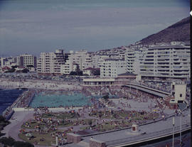 Cape Town, 1969. Sea Point swimming pool.