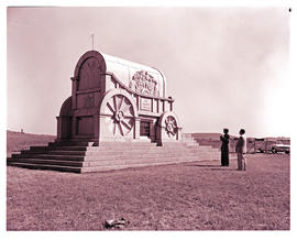 """Vryheid district, 1962. Blood River monument."""