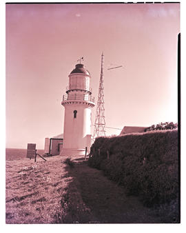 East London, 1951. Hood Point lighthouse.