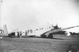 SAA Junkers JU-52 ZS-AFB at airport.