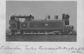 IMR to CSAR Class E built by Neilson, Reid & Co in 1902, later SAR Class H1 and Class 13. (So...