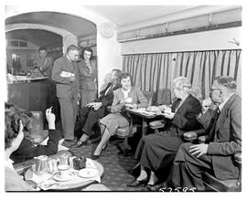 """1950. Blue Train lounge car."""