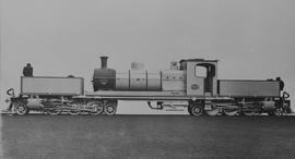 "SAR Class GB (1st order) No 1650 built by Beyer Peacock Co No 5942 in 1921. First 3'-6"" bra..."