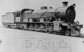 SAR Class 12A No 2131 built by North British Loco Works No's 23891-23903 in 1929.