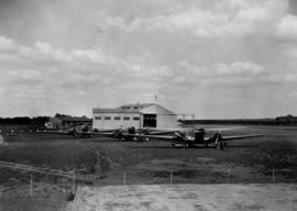 Johannesburg, 1934. Rand airport. All three SAA Ju-52's parked shortly after their delivery.