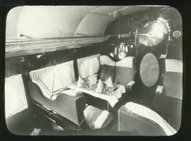 Interior of Hannibal aircrft.