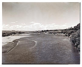 """Aliwal North, 1946. Orange River."""