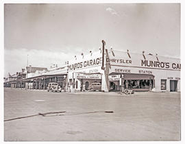 """Aliwal North, 1938. Munro's Garage."""
