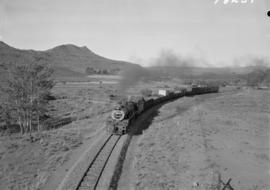 Grahamstown district, 1968. Goods train.