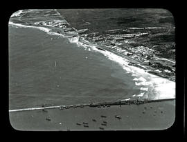 Port Elizabeth. Aerial view of Port Elizabeth harbour and beachfront.