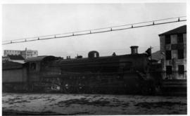 Cape Town, September 1945. SAR Class 19C No 2436 at Woodstock.