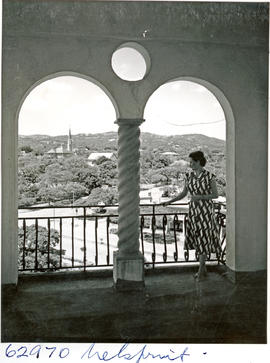 """Nelspruit, 1954. View from Town Hall."""