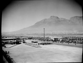 Cape Town, 17 February 1947. Parade at Duncan Dock.