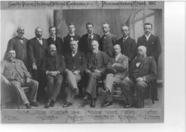 Pietermaritzburg. March 1897. South African railway officers' conference.