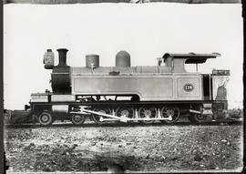 Locomotive No 114, later SAR Class A.