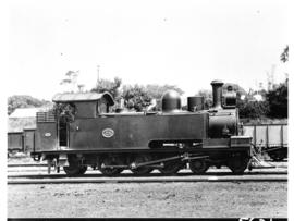 NGR Kitson and Stevenson rebuilt No 38, later SAR Class C1 No 77.