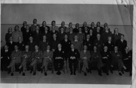 Johannesburg, 1947. Senior SAR officer's conference.