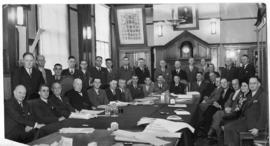Johannesburg, 13 September 1944. Conference betwene Administration, Management and Federal Consul...