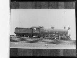 NGR 'American D' No 335 built by American Locomotive Co later SAR Class 3A No 1476, also known as...