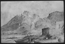 Cape Town, 1835. Lion's Head.