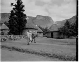 Royal Natal National Park, Drakensberg, 14 to 16 March 1947. King George VI and Queen Elizabeth w...